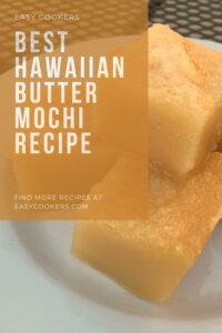 Hawaiian Butter Mochi Recipe