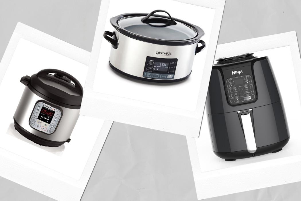 Instant Pot vs Crock Pot vs Ninja Air Fryer Which kitchen appliance is best
