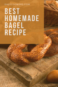 Best Homemade Bagel Recipe