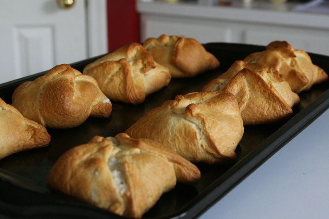 Recipe Cream Cheese Chicken Croissants