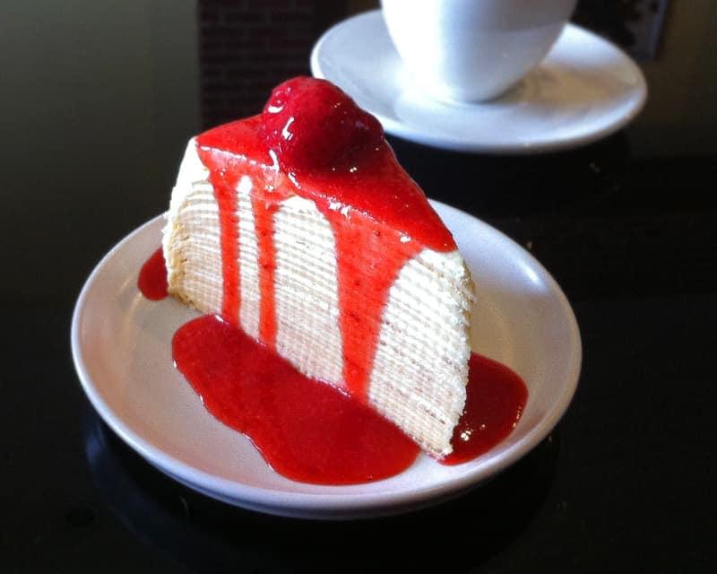 Strawberry Crepe Cake